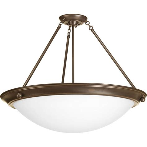 4 Light Semi Flush Ceiling Fixture Progress Lighting P3485 20 Antique Bronze Eclipse 27 3 8 Quot Four Light Semi Flush Mount Ceiling