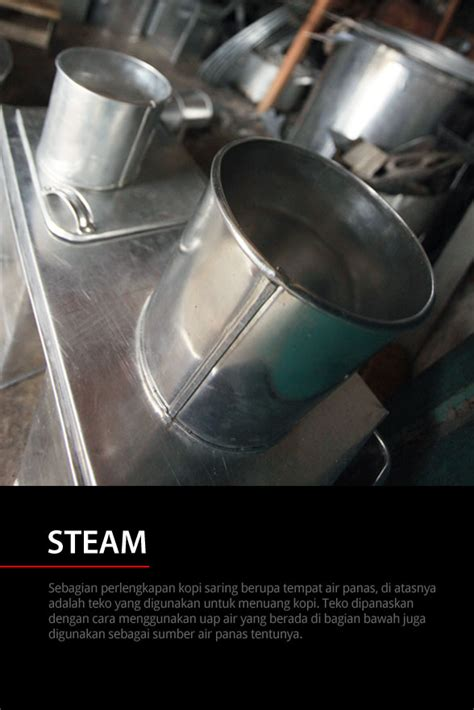 Gayung Kopi Aceh di balik kopi saring cikopi