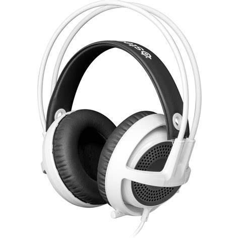 Headset Gaming Steelseries steelseries siberia v3 gaming headset white 61356 b h photo