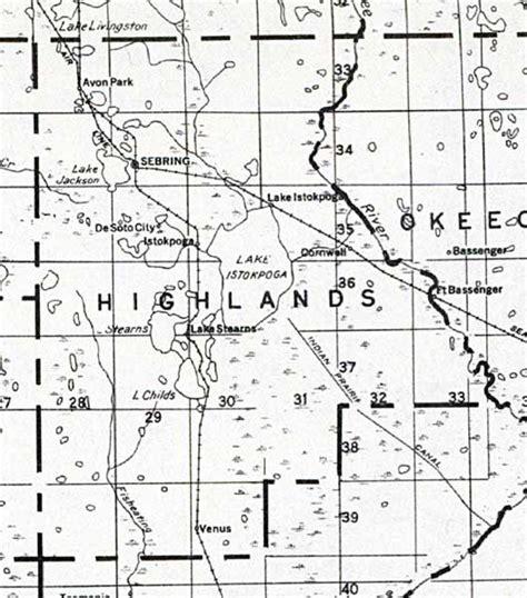 Highlands County Florida Records Highlands County 1932