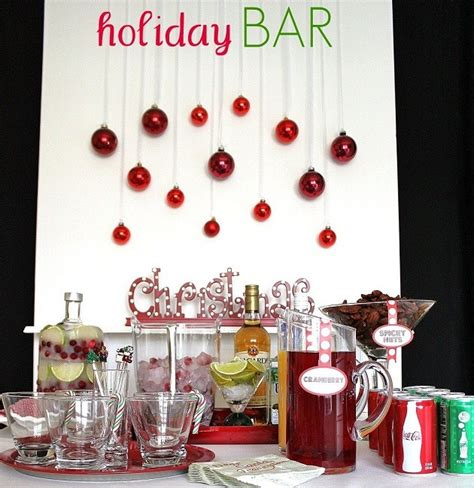 creating your holiday bar celebrations at home