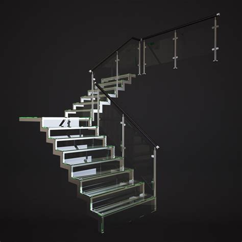 home design 3d gold stairs glass stairs by genkot29 3docean