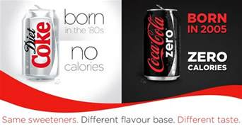 is coke zero better than regular coke coca cola ansoff matrix the marketing agenda
