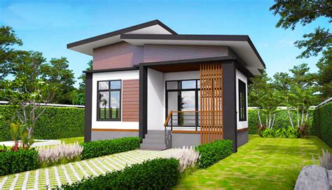 elevated modern single storey house house plans