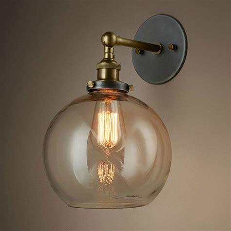 Unique Sconces Unique Globe Shape Light Shade Shape Wall Sconces