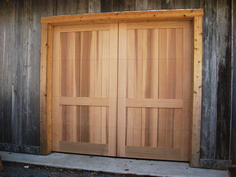 Barn Door Garage Door Pictures - cedar doors knotty cedar garage doors sc 1 st nicku0027s