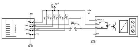 pull up resistor esp8266 esp8266 01 pin magic how to use the esp8266 01 pins