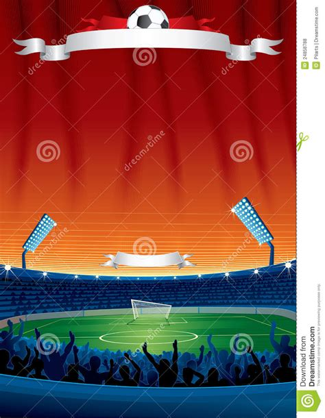 soccer template soccer background template stock vector image of chion