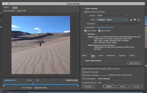 export adobe premiere instagram download these free instagram export presets for premiere