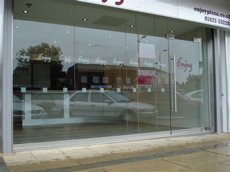 Shop Front Glass Doors Toughened Glass Shop Fronts Combat Doors Manchester