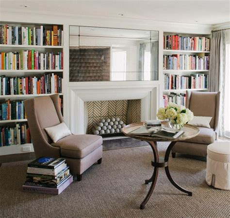 Asymmetrical Bookcase Fireplace Built In Bookcase Design Ideas