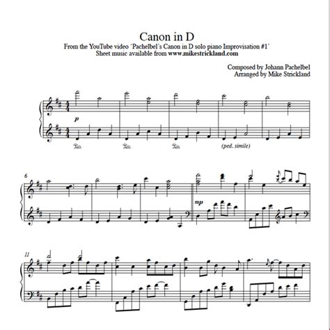 printable piano sheet music canon in d piano piano tabs canon in d piano tabs canon in at piano