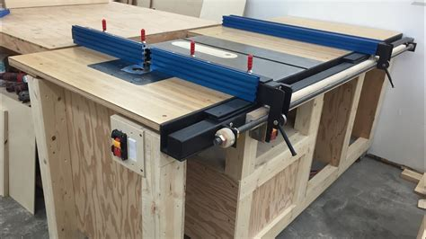 how a table saw table saw station