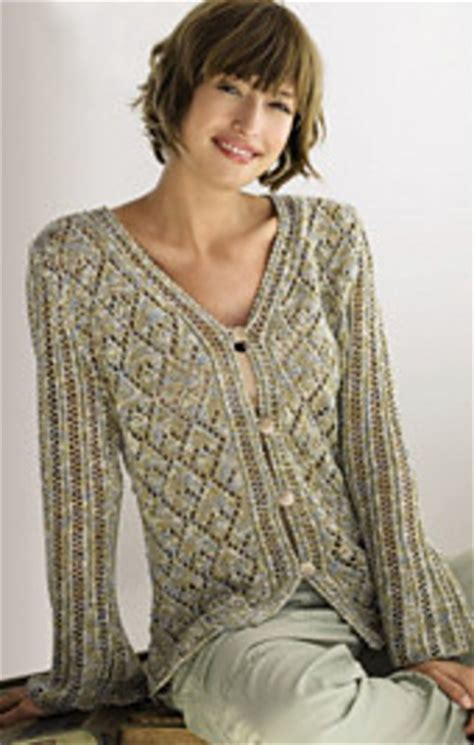 free womens knitting patterns cardigans ravelry 01 gala print cardigan pattern by grossa