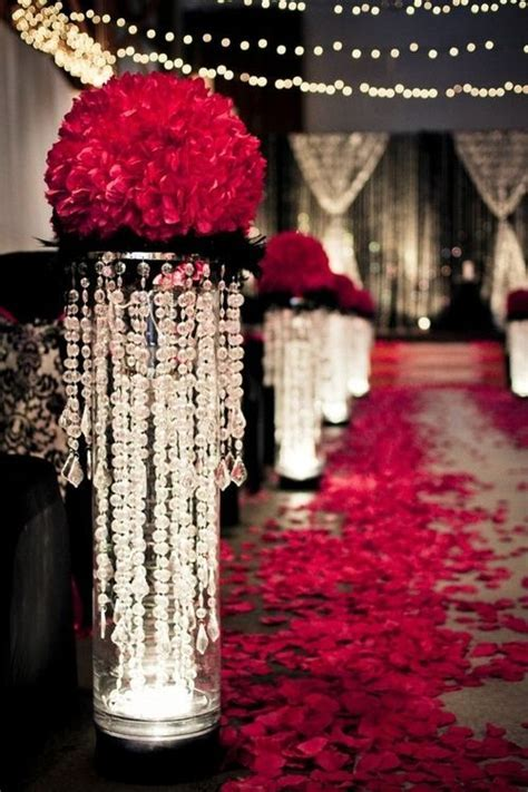 25  best ideas about Bling wedding decorations on