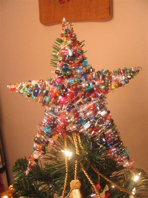 creative christmas tree toppers ideas