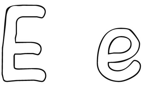 coloring pages for letter e free letter e printable coloring pages for preschool