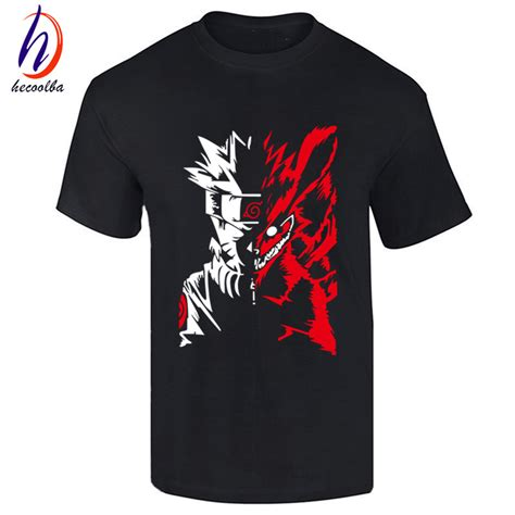 new pattern of t shirt ᐂnew fashion naruto akatsuki logo logo pattern t shirt