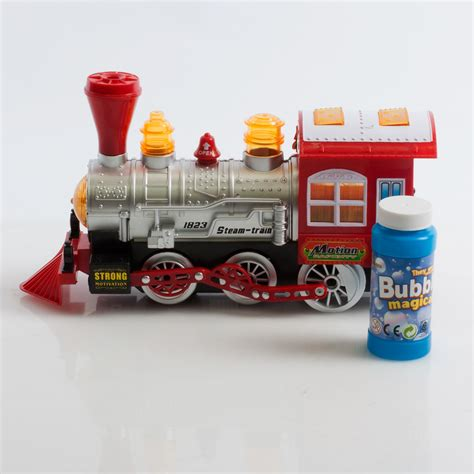 Stelan Gamis Buble steam locomotive engine car blowing bump go
