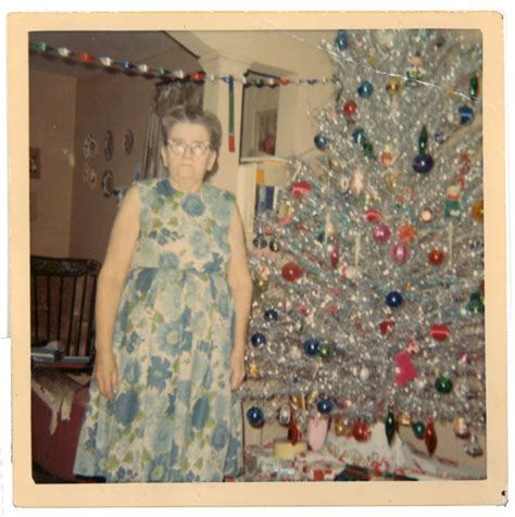 most popular live christmas trees of 1960s mid century enjoying aluminum trees flashbak