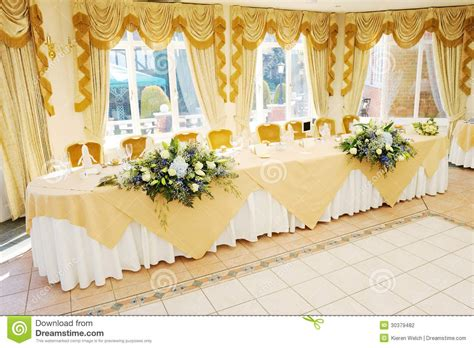 photo decorating top table at wedding reception stock photo image of