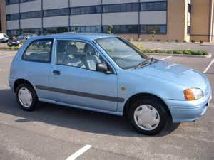 Blue Toyota Starlet Toyota Starlet Auto 20 000 One Sold 1999 On