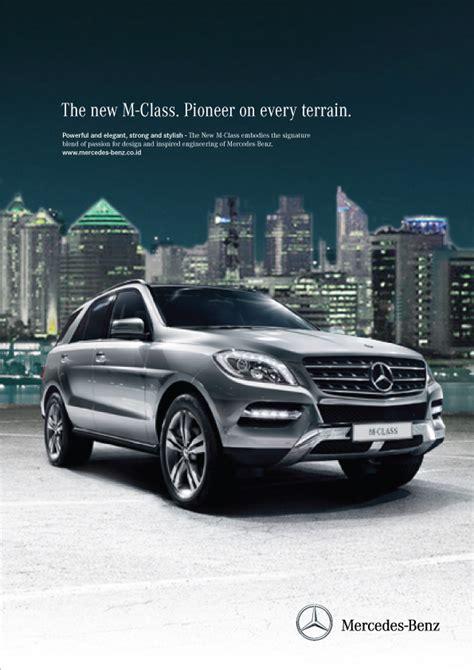 mercedes magazine mercedes m class magazine ads on behance