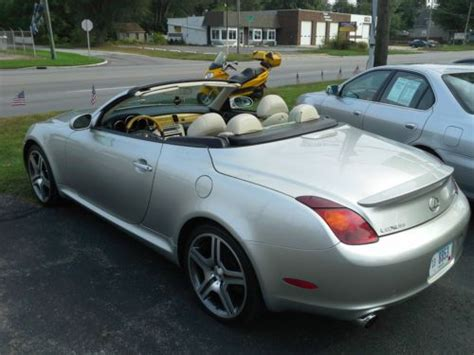 lexus convertible 4 door find used 2002 lexus sc430 retractable convertible 2 door