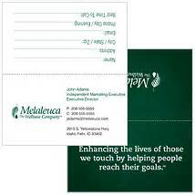 tent style business cards business cards melaleuca