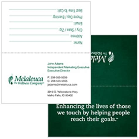 Melaleuca Business Cards Templates by Melaleuca Business Cards Gallery Business Card Template