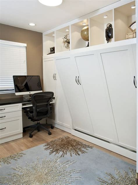 office bed maximize small spaces murphy bed design ideas