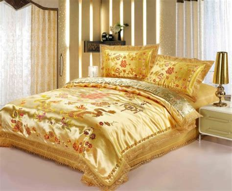 gold bedding sets 11 luxurious gold bedding sets