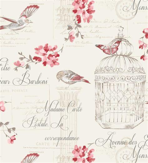 imagenes de letras vintage papel pintado vintage con jaulas p 225 jaros y letras tonos
