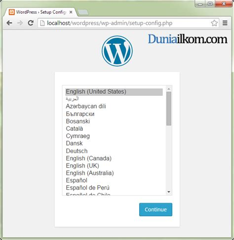 tutorial wordpress offline tutorial belajar wordpress cara menginstall wordpress