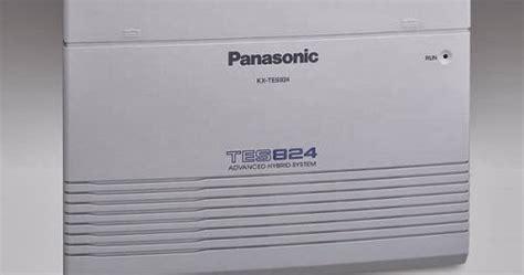 Pabx Panasonic Kx Tes824 168 koetoekret setting pabx kx tes824