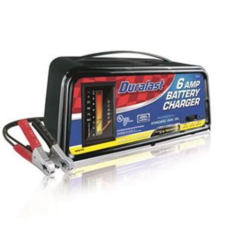 Duralast 6/2 Amp manual battery charger DL 6   Read