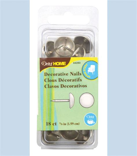 Dritz Home Decorative Nails Dritz Home 8 Decorative Nails Nickel Jo
