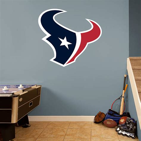 Texans Wall Decor by Houston Texans Logo Wall Decal Shop Fathead 174 For Houston