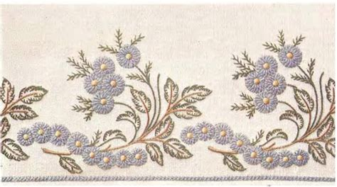antique pattern library embroidery needlecraft dmc motifs for embroidery vth series
