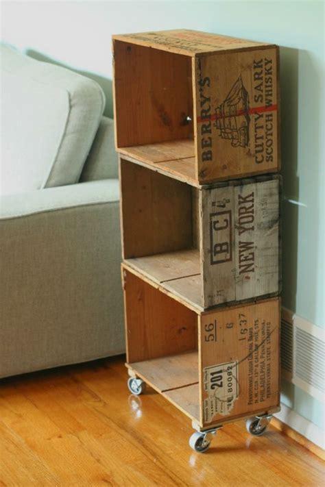 Antique Bookcase For Sale Des Fa 231 Ons Inspirantes D Utiliser Ses Caisses En Bois Pour