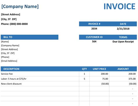 15 free invoice templates for all types of businesses