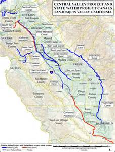 senator feinstein and central valley project water