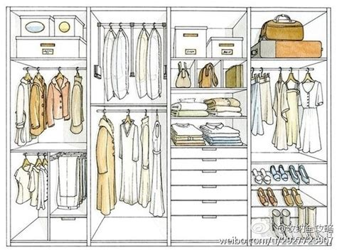 How To Draw A Closet by Wardrobe Organize Sketches And Ideas For The Home Organizing Wardrobes And