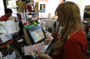 Gas Station Cashier by Powerball Jackpot Swells To 235 Million Ahead Of Wednesday S Drawing Daily Mail