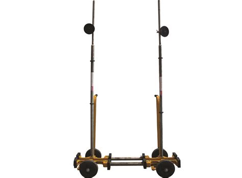 Trolley Glass compact 496 plate glass trolley