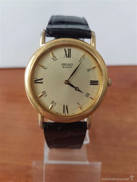 correa de cuero reloj relojes seiko con correa de cuero