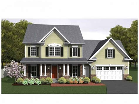 colonial style house plans home plan homepw75153 1775 square foot 3 bedroom 2