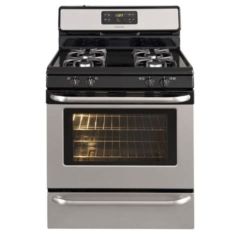 frigidaire 5 0 cu ft self cleaning freestanding gas