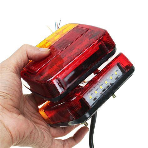 eclairage remorque led 12v camion remorque 20 led feux arri 232 re clignotants nombre