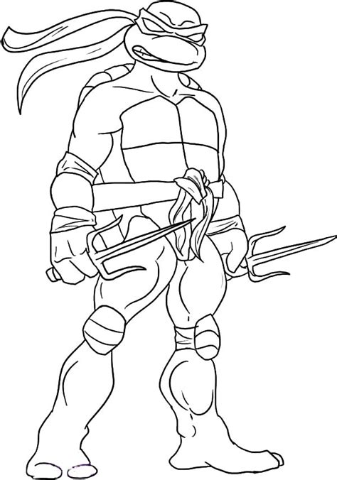 ninja turtles weapons coloring pages teenage mutant ninja turtles sai is raphael weapon of
